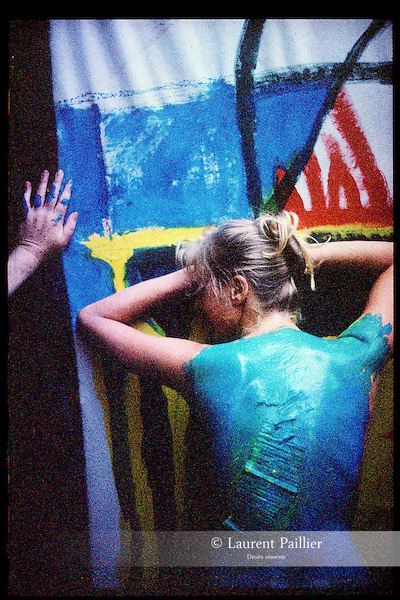 LA MATIERE DE LA DANSEUSE<br /> Ville : Paris<br /> 1998<br /> © Laurent Paillier / photosdedanse.com<br /> All rights reserved
