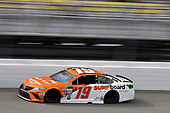 Monster Energy NASCAR Cup Series<br /> Pure Michigan 400<br /> Michigan International Speedway, Brooklyn, MI USA<br /> Sunday 13 August 2017<br /> Daniel Suarez, Joe Gibbs Racing, ARRIS Surfboard / McAfee Toyota Camry<br /> World Copyright: Nigel Kinrade<br /> LAT Images