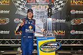 NASCAR Camping World Truck Series<br /> UNOH 200<br /> Bristol Motor Speedway, Bristol, TN USA<br /> Thursday 17 August 2017<br /> Kyle Busch, Banfield Pet Hospital Toyota Tundra, celebrates in victory lane.<br /> World Copyright: Russell LaBountyLAT Images
