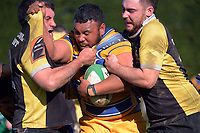 Action from the Manawatu senior 2 rugby final between Freyberg and Dannevirke at Massey University in Palmerston North, New Zealand on Saturday, 24 July 2021 Photo: Dave Lintott / lintottphoto.co.nz