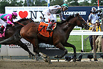 June 6, 2014: Palace (NY) with Jose Ortiz win the Grade II True North Stakes for 4-year olds & up, going 6 furlongs at Belmont Park. Trainer: Linda Rice. Owner: Antonio Miuccio. Sue Kawczynski/ESW/CSM