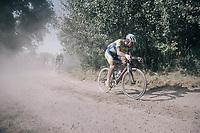 Stijn Steels (BEL/Sport Vlaanderen Baloise)<br /> <br /> 92nd Schaal Sels 2017 <br /> 1 Day Race: Merksem > Merksem (188km)