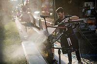 post-race bike wash<br /> <br /> 110th Milano-Sanremo 2019 (ITA)<br /> One day race from Milano to Sanremo (291km)<br /> <br /> ©kramon