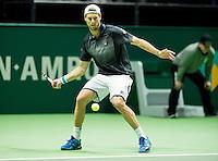 Rotterdam, The Netherlands, Februari 9, 2016,  ABNAMROWTT, Andreas Seppi (ITA)<br /> Photo: Tennisimages/Henk Koster