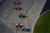 #3: Scott McLaughlin, Team Penske Chevrolet, #8: Marcus Ericsson, Chip Ganassi Racing Honda