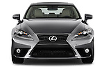 Straight front view of a 2014 Lexus IS 250 Sedan