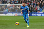 Getafe CF's Vitorino Antunes during La Liga match between Getafe CF and Valencia CF at Coliseum Alfonso Perez in Getafe, Spain. November 10, 2018.