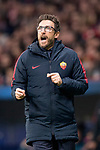 Eusebio Di Francesco head  coach of AS Roma during the UEFA Champions League 2017-18 match between Atletico de Madrid and AS Roma at Wanda Metropolitano on 22 November 2017 in Madrid, Spain. Photo by Diego Gonzalez / Power Sport Images