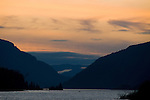Sunset in the Columbia River Gorge, Oregon