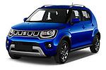2020 Suzuki Ignis GL+ 5 Door Hatchback Angular Front automotive stock photos of front three quarter view