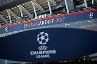Pictured: The National Stadium of Wales (aka Principality Stadium) Thursday 25 May 2017<br />