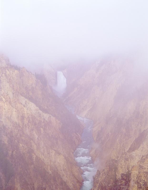 Lower Falls, Yellowstone River. Wyoming.