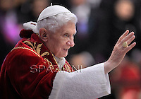 Pope Benedict XVI  to mark the 900th anniversary  the Order of the Knights of Malta,February 9, 2013