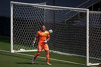 LOS ANGELES, CA - AUGUST 22: David Bingham #1 GK of the Los Angeles Galaxy during a game between Los Angeles Galaxy and Los Angeles FC at Banc of California Stadium on August 22, 2020 in Los Angeles, California.