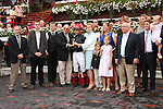 August 23, 2014: Abaco with Jose Ortiz win the 26th running of the Grade II Ballston Spa for fillies & mares, 3-year olds & up, going 1 1/16 mile on the inner turf at Saratoga Racetrack. Trainer: Shug McGaughey . Owner: Phipps Stable . Sue Kawczynski/ESW/CSM