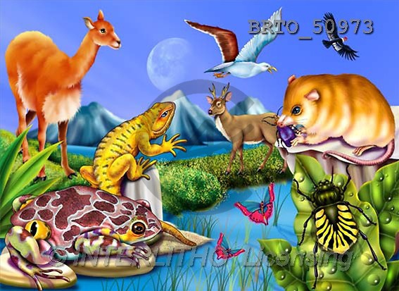 Alfredo, CUTE ANIMALS, puzzle, paintings(BRTO50973,#AC#) illustrations, pinturas, rompe cabeza