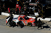 NASCAR Camping World Truck Series<br /> Alpha Energy Solutions 250<br /> Martinsville Speedway, Martinsville, VA USA<br /> Saturday 1 April 2017<br /> Ryan Truex pit stop<br /> World Copyright: Scott R LePage/LAT Images<br /> ref: Digital Image lepage-170401-mv-2405
