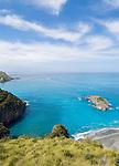 Italy, Calabria, Riviera dei Cedri, coastline near Praia a Mare