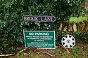 a wheel in no parking street in a Cotswold Village  CREDIT Geraint Lewis