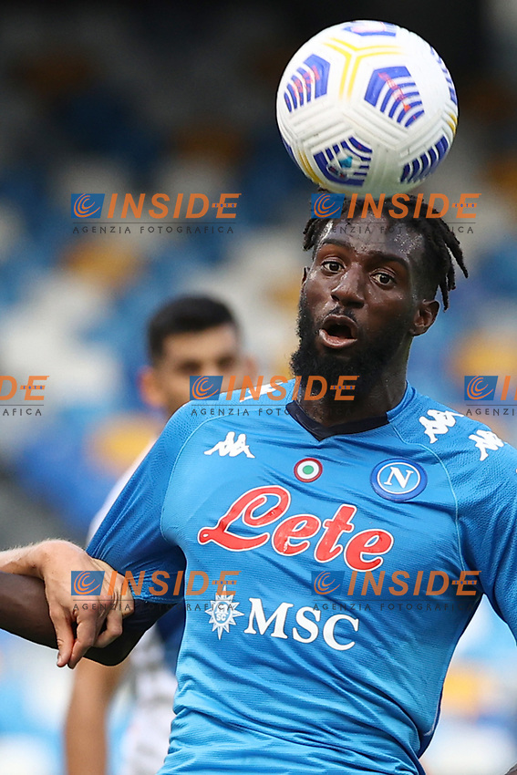 Tiemoue Bakayoko of SSC Napoli <br /> during the Serie A football match between SSC Napoli and Atalanta BC at stadio San Paolo in Napoli (Italy), October 17th, 2020. <br /> Photo Cesare Purini / Insidefoto