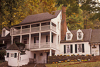 AJ3144, Charlottesville, Virginia, tavern, Historic Michie Tavern in Charlottesville in the state of Virginia.