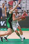 TDAYS EuroCup 2020-2021.Round 1.<br /> Joventut Badalona vs Partizan NIS Belgrado: 85-82.<br /> Simon Birgander vs Nikola Jankovic.