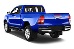 Car pictures of rear three quarter view of 2017 Toyota Hilux Comfort 2 Door Pickup Angular Rear