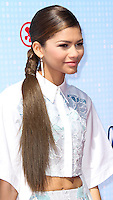 LOS ANGELES, CA, USA - APRIL 26: Zendaya Coleman at the 2014 Radio Disney Music Awards held at Nokia Theatre L.A. Live on April 26, 2014 in Los Angeles, California, United States. (Photo by Xavier Collin/Celebrity Monitor)