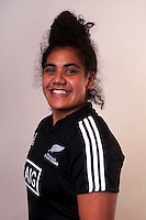 Victoria Nafatali. New Zealand Black Ferns headshots at The Rugby Institute, Palmerston North, New Zealand on Thursday, 28 May 2015. Photo: Dave Lintott / lintottphoto.co.nz