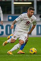 inter-torino - milano 22 novembre 2020 - Campionato Serie A 8° giornata - nella foto: linetty karol