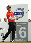 SUZHOU, CHINA - APRIL 17:  Y.E. Yang of Korea tees off on the 16th hole during the Round Three of the Volvo China Open on April 17, 2010 in Suzhou, China. Photo by Victor Fraile / The Power of Sport Images