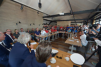 ZEILSPORT: GROU: 27-07-2019, SKS Skûtsjesilen, openingswedstrijd in Grou van het twee weken durende kampioenschap van het SKS Skûtsjesilen, ©foto Martin de Jong