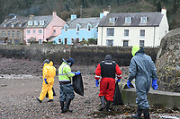 2019 01 04 Oil spill in Pembrokeshire, Wales, UK