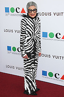LOS ANGELES, CA, USA - MARCH 29: Joy Venturini Bianchi at the MOCA's 35th Anniversary Gala Presented By Louis Vuitton held at The Geffen Contemporary at MOCA on March 29, 2014 in Los Angeles, California, United States. (Photo by Celebrity Monitor)