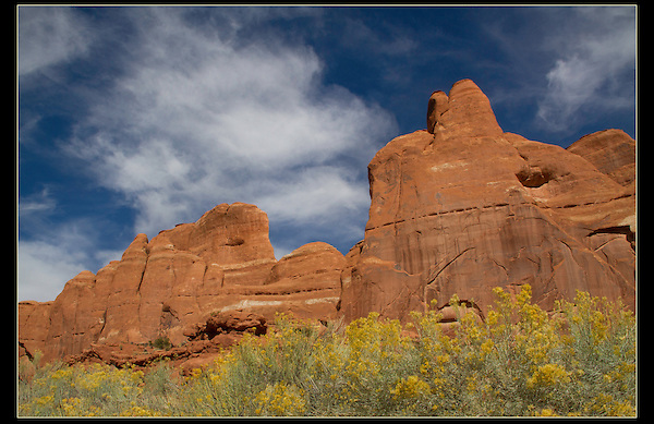 Devil's Garden in Arches National Park, Utah.<br /> John offers Arches National Park photo tours.  Year-round Utah photo tours.