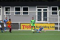 Kent FA Intermediate Challenge Shield Final. Metrogas (Blue & White) V Farnborough Old Boys Guild (Yellow & Red)