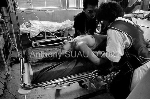 Moscow, Russia.Emergency ward.1994