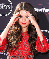 LOS ANGELES, CA - JULY 17: Selena Gomez attends the ESPY Awards 2013 held at Nokia Theatre L.A. Live on July 17, 2013 in Los Angeles, California. (Photo by Celebrity Monitor)