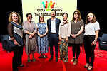 26 June, 2018, Kuala Lumpur, Malaysia : From Left  Margaret Hempel (Ford Foundation), Mieke Vogels (Netherlands) Kathleen Flynn- Dapaah (Canada), Mexence Daublain (Belgium), Dena Kimball (Kendeda Fund), Jo Cooke (UK) and Adriana Domagala (France) at the second day at the Girls Not Brides Global Meeting 2018 at the Kuala Lumpur Convention Centre. Picture by Graham Crouch/Girls Not Brides