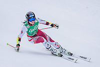 28th December 2020; Semmering, Austria; FIS Womens Giant Slalom World Cu Skiing; Franziska Gritsch of Austria in action during her 1st run of women Giant Slalom of FIS ski alpine world cup at the Panoramapiste in Semmering
