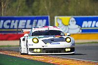 #92 PORSCHE AG TEAM MANTHEY (DEU) PORSCHE 911 RSR  RICHARD LIETZ (AUT) MARC LIEB (DEU) ROMAIN DUMAS (FRA)