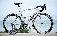 Fabian Cancellara's (SUI/Trek-Segafredo) customised 'Spartacus' Trek Madone for his last ever (2016) Tour de France