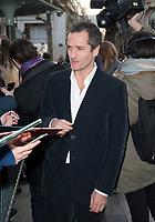 November 19 2017, PARIS FRANCE<br /> Arrival of the film team at the Premiere of<br /> Paddington 2 at UGC Normandie on avenue des Champs-Elysées Paris. The Producer<br /> David Heyman signs autographs.