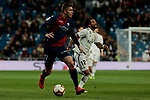 SD Huesca's -hu17- during La Liga match between Real Madrid and SD Huesca at Santiago Bernabeu Stadium in Madrid, Spain.March 31, 2019. (ALTERPHOTOS/A. Perez Meca)