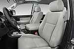Front seat view of a 2015 Toyota Sequoia SR5 5 Door SUV front seat car photos