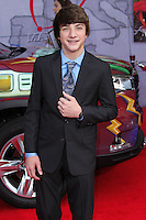 """HOLLYWOOD, LOS ANGELES, CA, USA - MARCH 11: Jake Short at the World Premiere Of Disney's """"Muppets Most Wanted"""" held at the El Capitan Theatre on March 11, 2014 in Hollywood, Los Angeles, California, United States. (Photo by Xavier Collin/Celebrity Monitor)"""