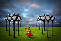 Photo manipulation<br /> Keeping time