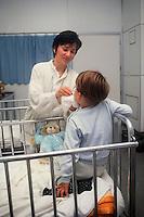 Ospedale pediatrico.Pediatric hospital.....