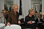 """YVONNE E MARIE LOUISE SCIO<br /> PREMIERE """"BACIAMI ANCORA"""" DI GABRIELE MUCCINO  - RICEVIMENTO AL HOTEL MAJESTIC  ROMA 2010"""