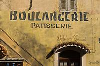 Bäckerei in Corte, Korsika, Frankreich